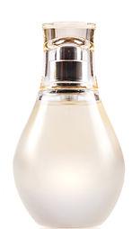 blank perfume bottle