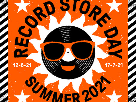 THE BLUE BEAT LABEL RECORD STORE DAY 2021.