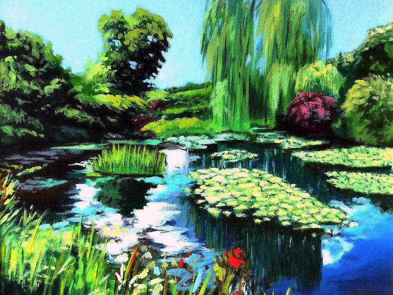 Claude Monet's garden (Giverny, France).
