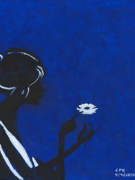 La donna e il fiore.jpg