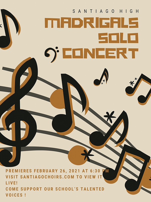 Updated Solo Concert Ad