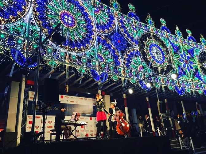 神戸ルミナリエ・光のファウンテン