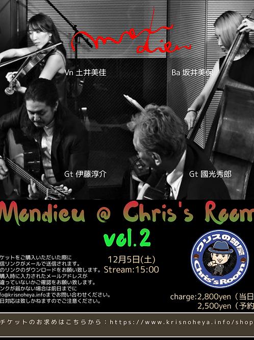 Mondieu vol.2当日券チケット