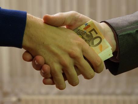 기업 대표의 뇌물 공여