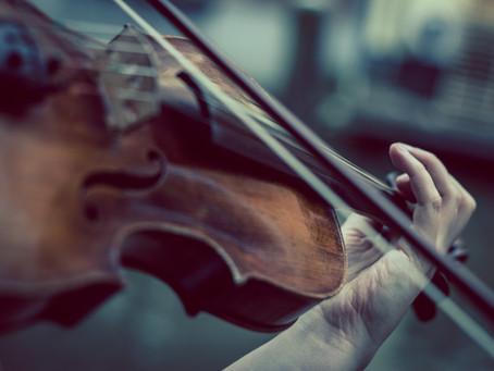왜 하필이면 중고 바이올린?