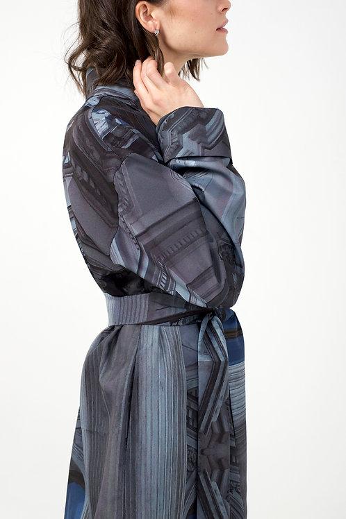 Платье-тренч в комплекте с поясом
