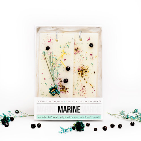 MARINE WAX TABLETS (2pc)