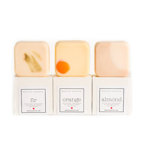 TRIO HOLIDAY / NATURAL SOAPS
