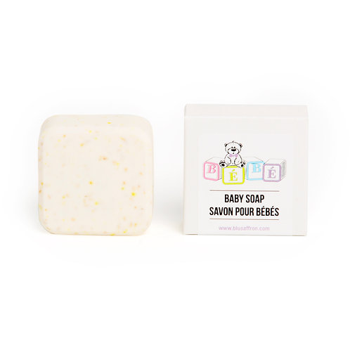 ALL NATURAL BABY SOAP / UNSCENTED
