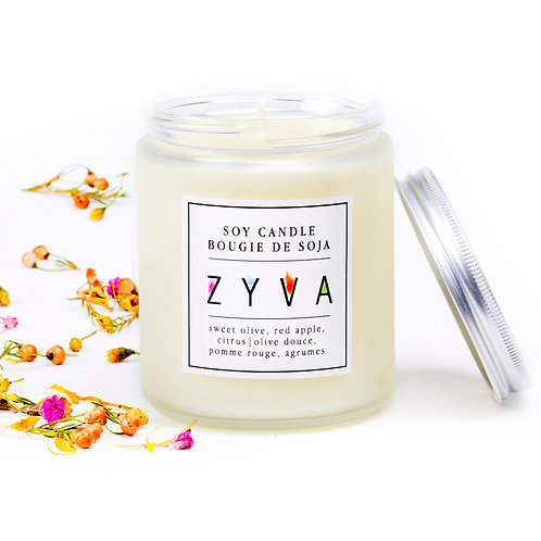 ZYVA PERFUMED CANDLE / new scent