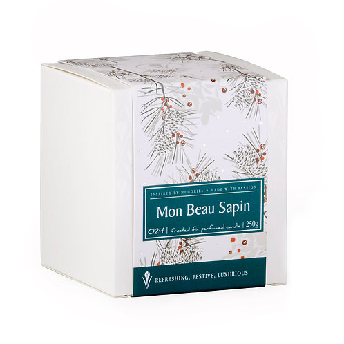 MON BEAU SAPIN PERFUMED CANDLE / in love with the frozen forest