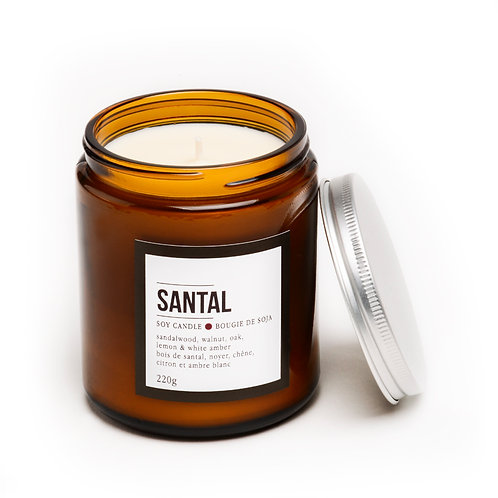 SANTAL PERFUMED CANDLE
