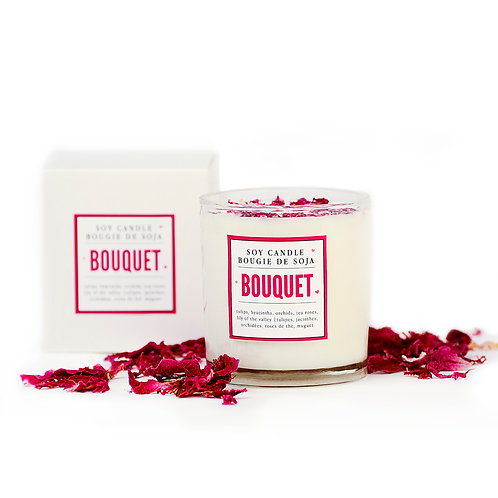 BOUQUET PERFUMED CANDLE