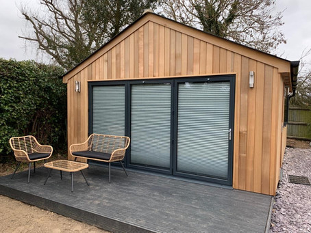 How To Make Your Garden Room Work In All Seasons