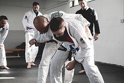 BJJ Class grip break to takedown