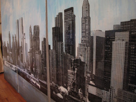 Twin Tower Skyline commission