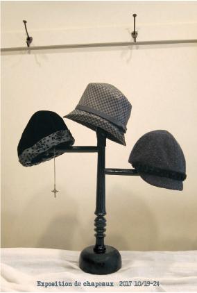 10月19日より1週間、まとまった数の秋負の帽子をご試着にいらっしゃってください。お待ちしております。