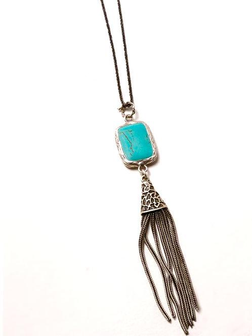Baja Twinkle Tassel Necklace