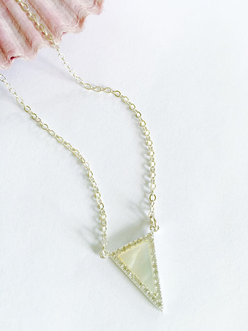 Destiny Necklace- Mother of Pearl
