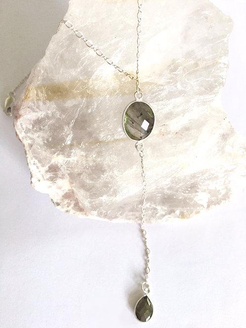 Follow Your Dreams Labradorite/Pyrite Lariat