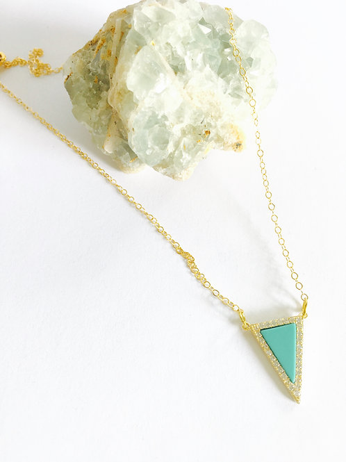 Destiny Necklace- Howlite