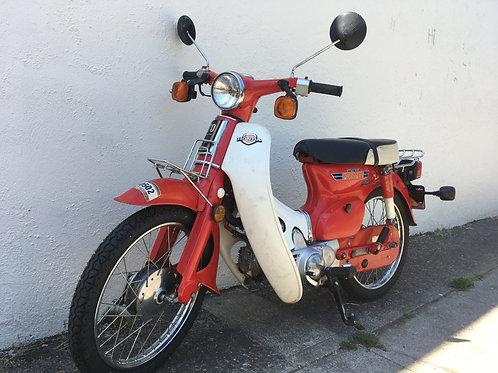 1981 Honda C70 Passport