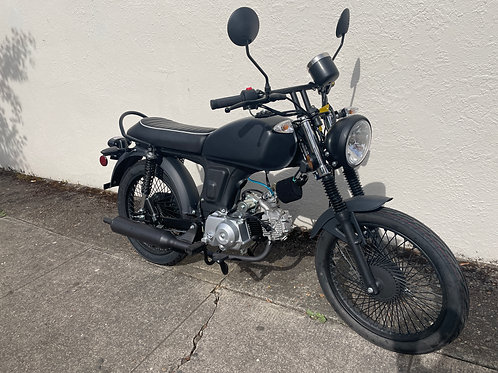 2021 Amstar Nostalgia 125cc Custom