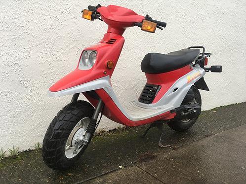 """1990 Yamaha Zuma """"Riva"""" Prebug"""