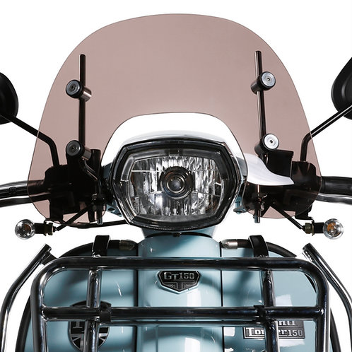Short Smoked Windshield for Royal Alloy