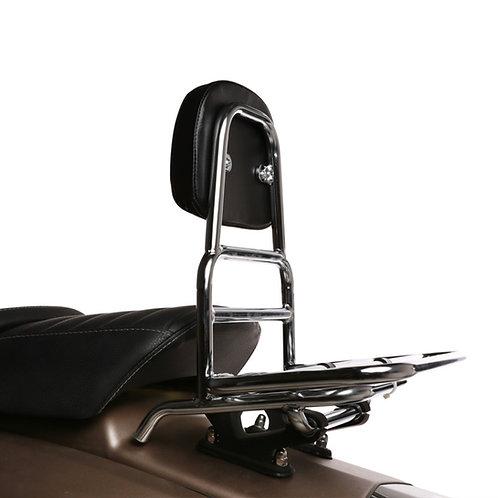 Royal Alloy Chrome Rear Rack w/Backrest