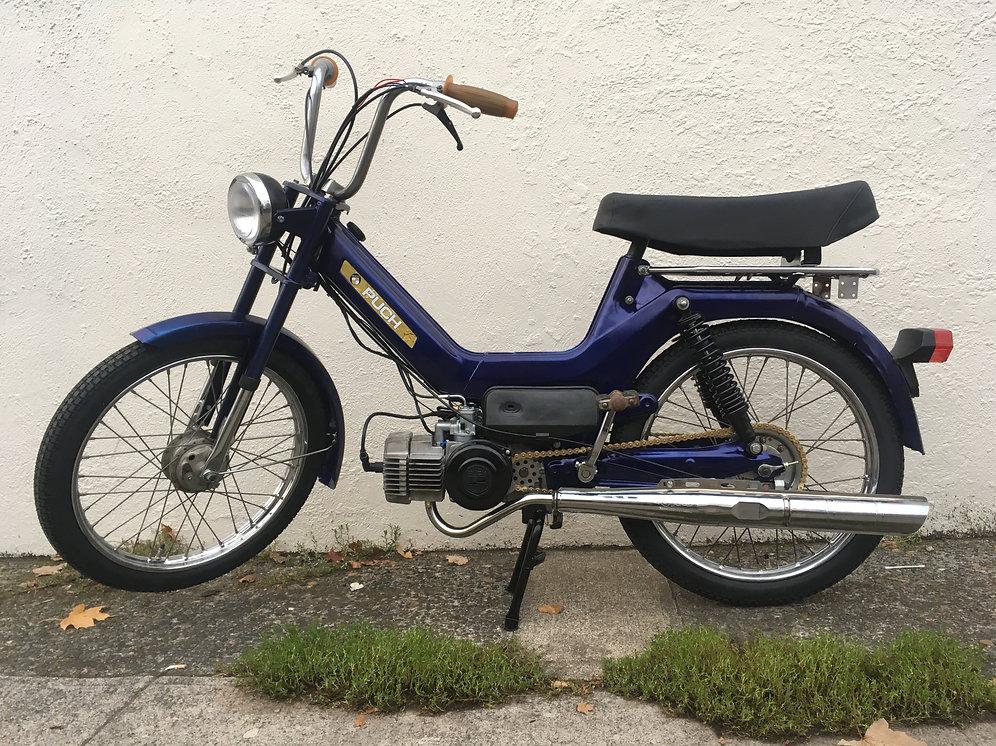 1977 Puch Maxi - Restored   Sabatino Mopeds