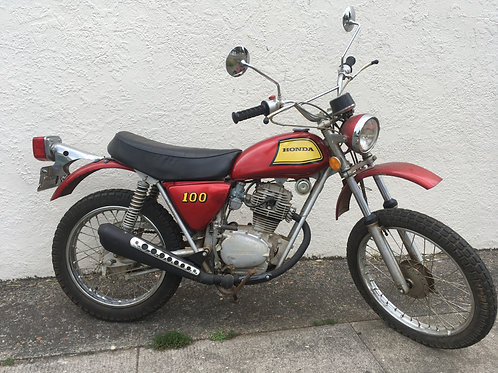 1973 Honda SL100