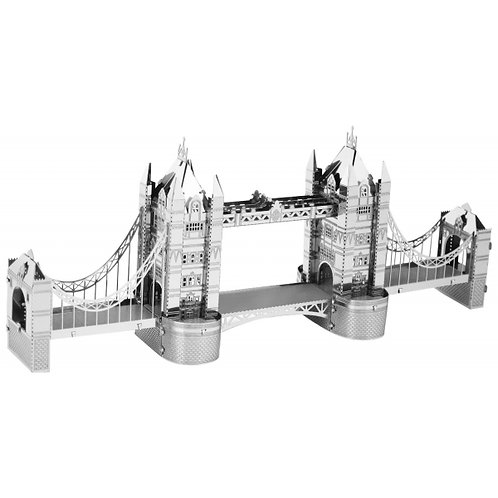 Tower Bridge (Architecture) Metal 3D Puzzle
