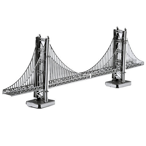 Golden Gate Bridge (Architecture) Metal 3D Puzzle