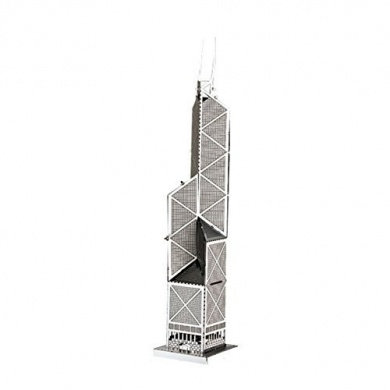 Bank of China Tower (Architecture) Metal 3D Puzzle