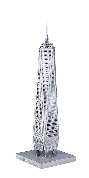 World Trade Center (Architecture) Metal 3D Puzzle
