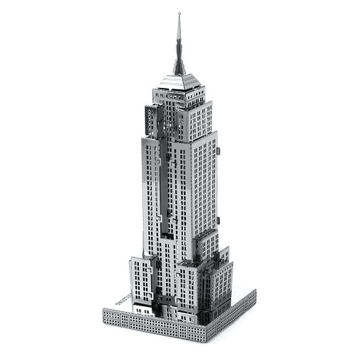 Empire Estate Building (Architecture) Metal 3D Puzzle