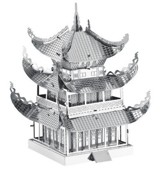 Yue Yang Tower (Architecture) Metal 3D Puzzle