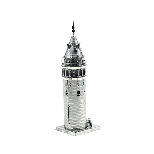 Galata Tower (Architecture) Metal 3D Puzzle