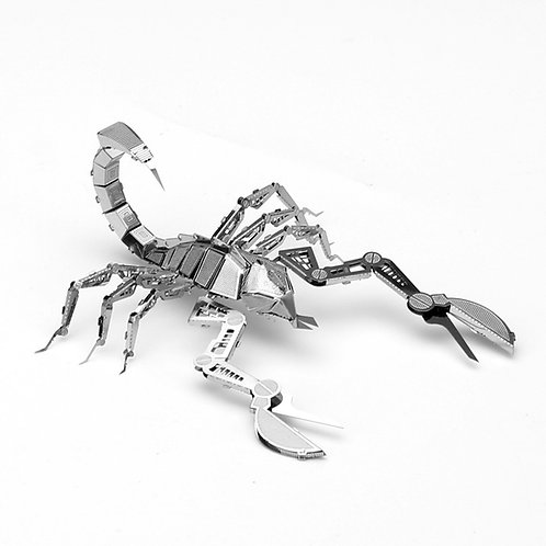Escorpion (Insectos) Metal 3D Puzzle