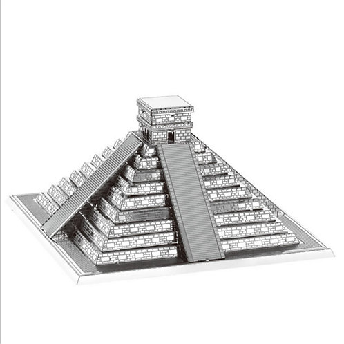 Piramide Maya (Architecture) Metal 3D Puzzle