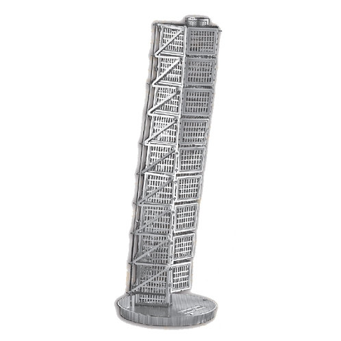 HSB Turning Torso (Architecture) Metal 3D Puzzle