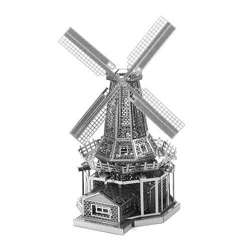 Windmill (Architecture) Metal 3D Puzzle