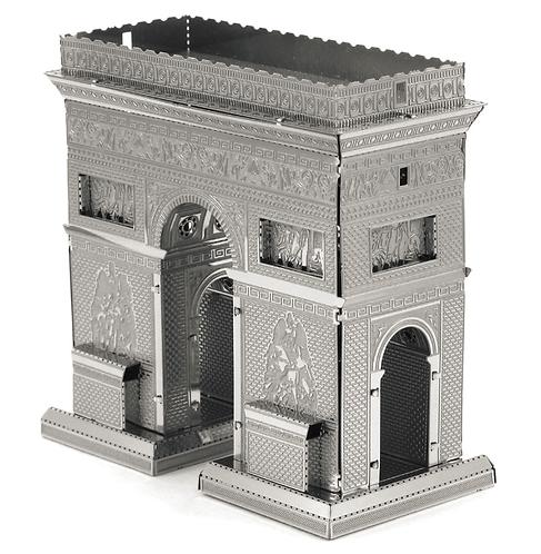Arco del Triunfo (Architecture) Metal 3D Puzzle