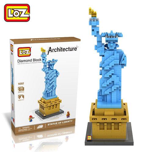 Statue of Liberty (Architecture, LOZ Diamond Block)
