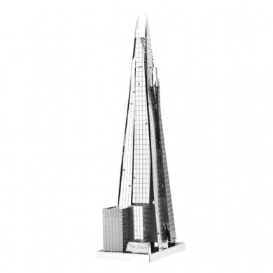 The Shard (Architecture) Metal 3D Puzzle