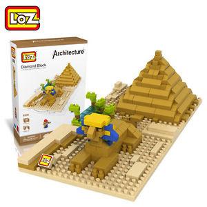 Sphinx and Pyramid (Architecture, LOZ Diamond Block)