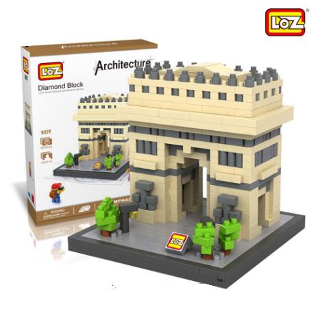 Triumphal Arch (Architecture, LOZ Diamond Block)
