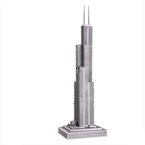 Willis Tower (Architecture) Metal 3D Puzzle