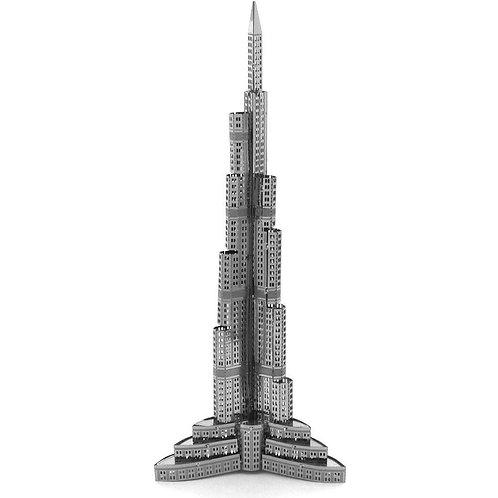Burj Khalifa (Architecture) Metal 3D Puzzle